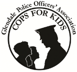 Glendale POA Cops for kids logo